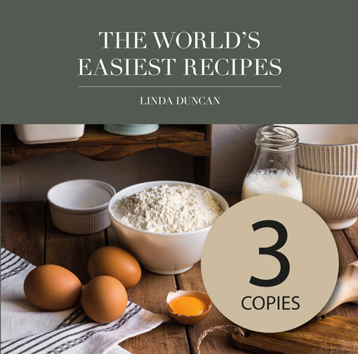 3 Copies of The World's Easiest Recipes (Free Shipping Anywhere in New Zealand) via @chooicenz
