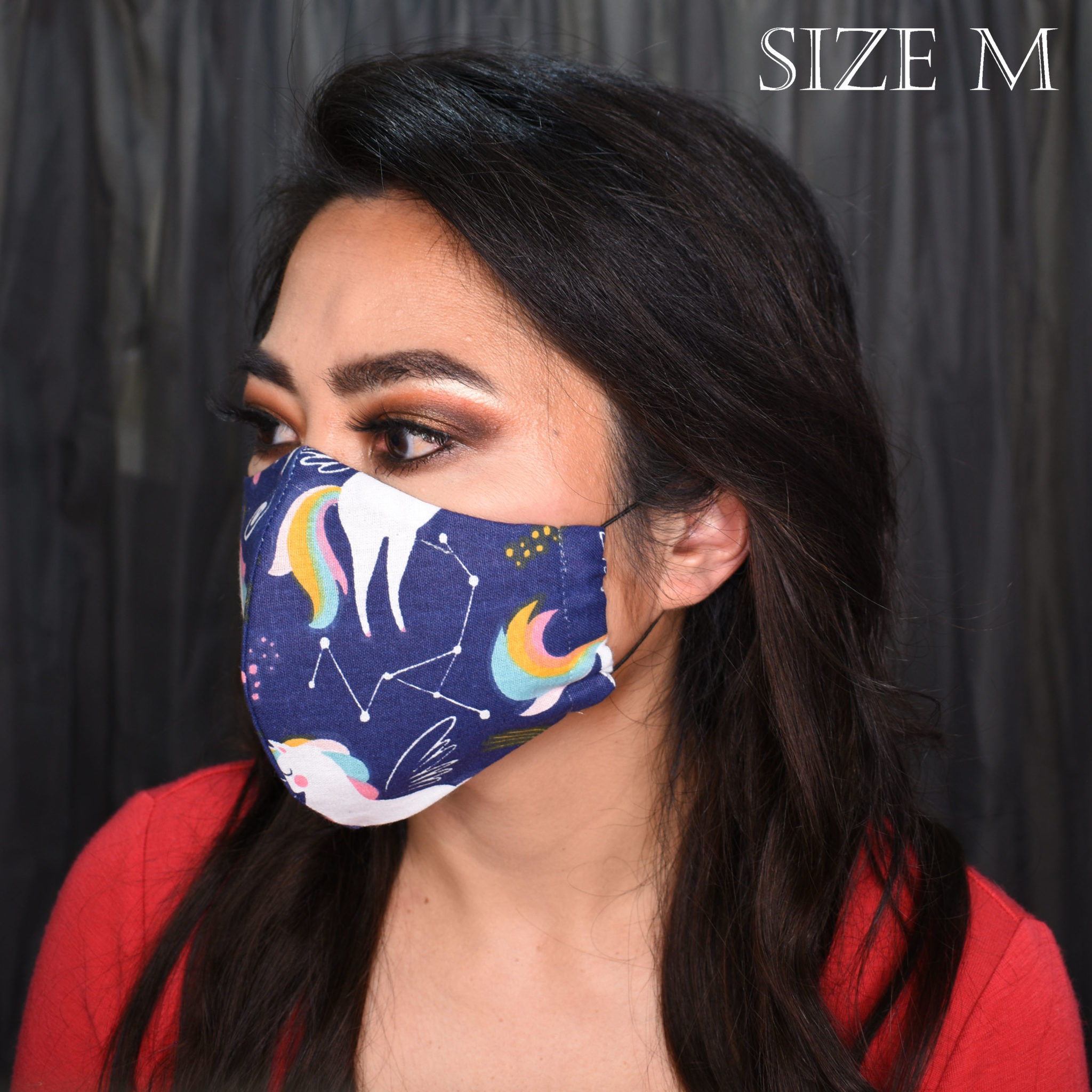 Unicorn Navy – Large (nose wire, filter pocket + NZ free shipping) via @chooicenz