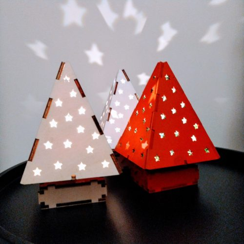Sparkle Tree: Wooden Christmas Kit for Older Kids, Teens and Adults via @chooicenz