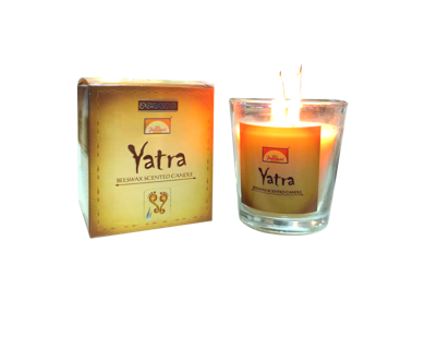 YATRA Beeswax Scented Candle - 125g