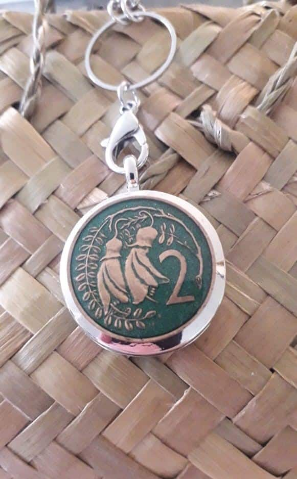 Olive Green 2 Cent Coin Locket Please click into product to see years available via @chooicenz