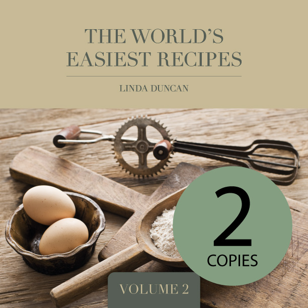 2 Copies of The World's Easiest Recipes – Volume 2 (Free shipping anywhere in New Zealand) via @chooicenz