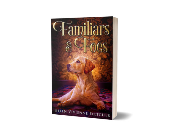 """A copy of the book """"Familiars and Foes"""" by Helen Vivienne Fletcher"""