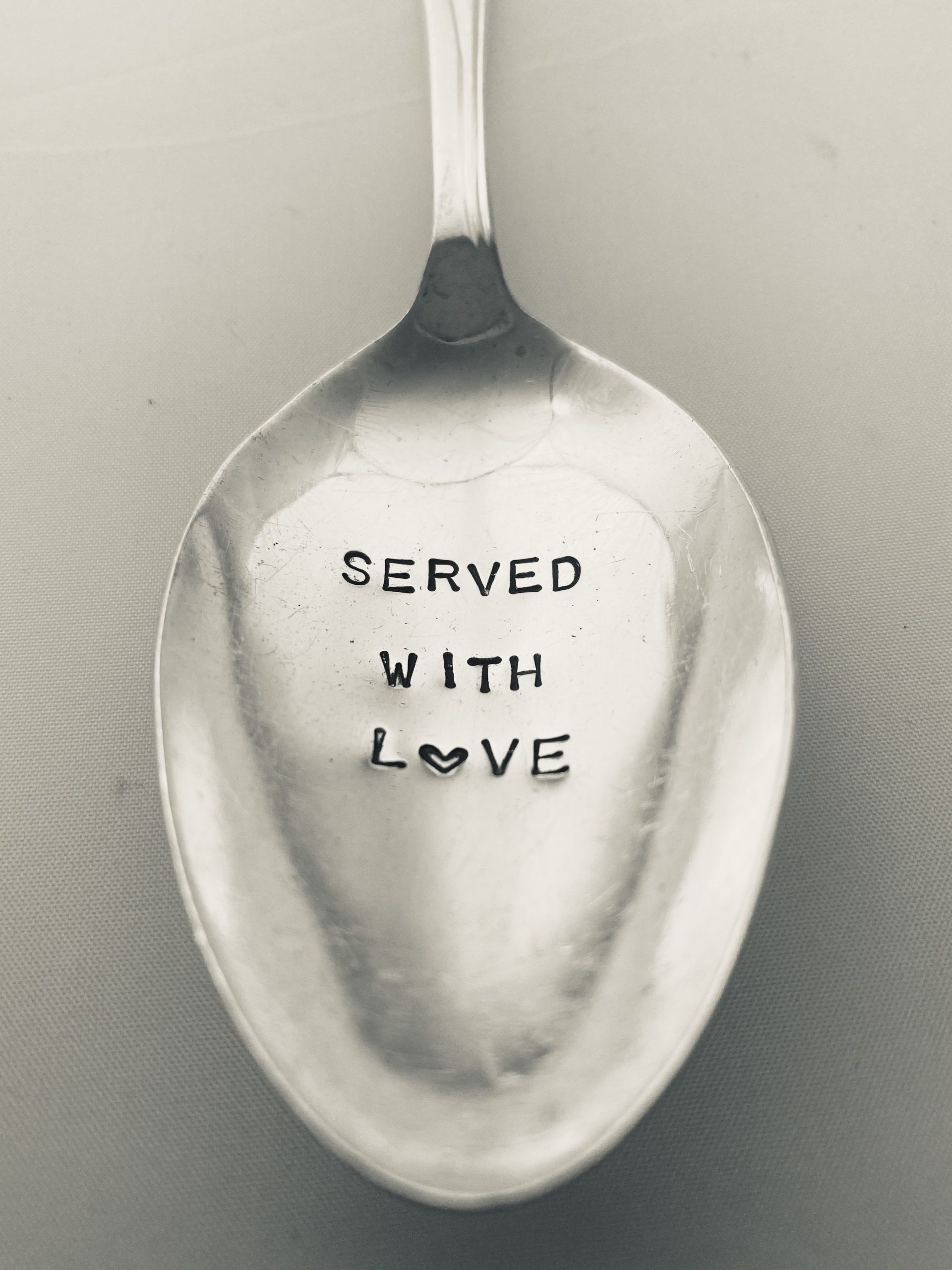 Served with Love Serving Spoon Medium Size via @chooicenz