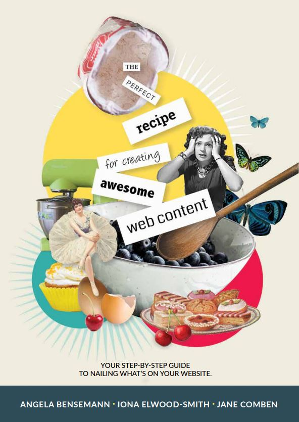 The perfect recipe for creating AWESOME web content via @chooicenz
