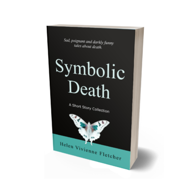 """A copy of the book """"Symbolic Death: A Short Story Collection"""" by Helen Vivienne Fletcher"""
