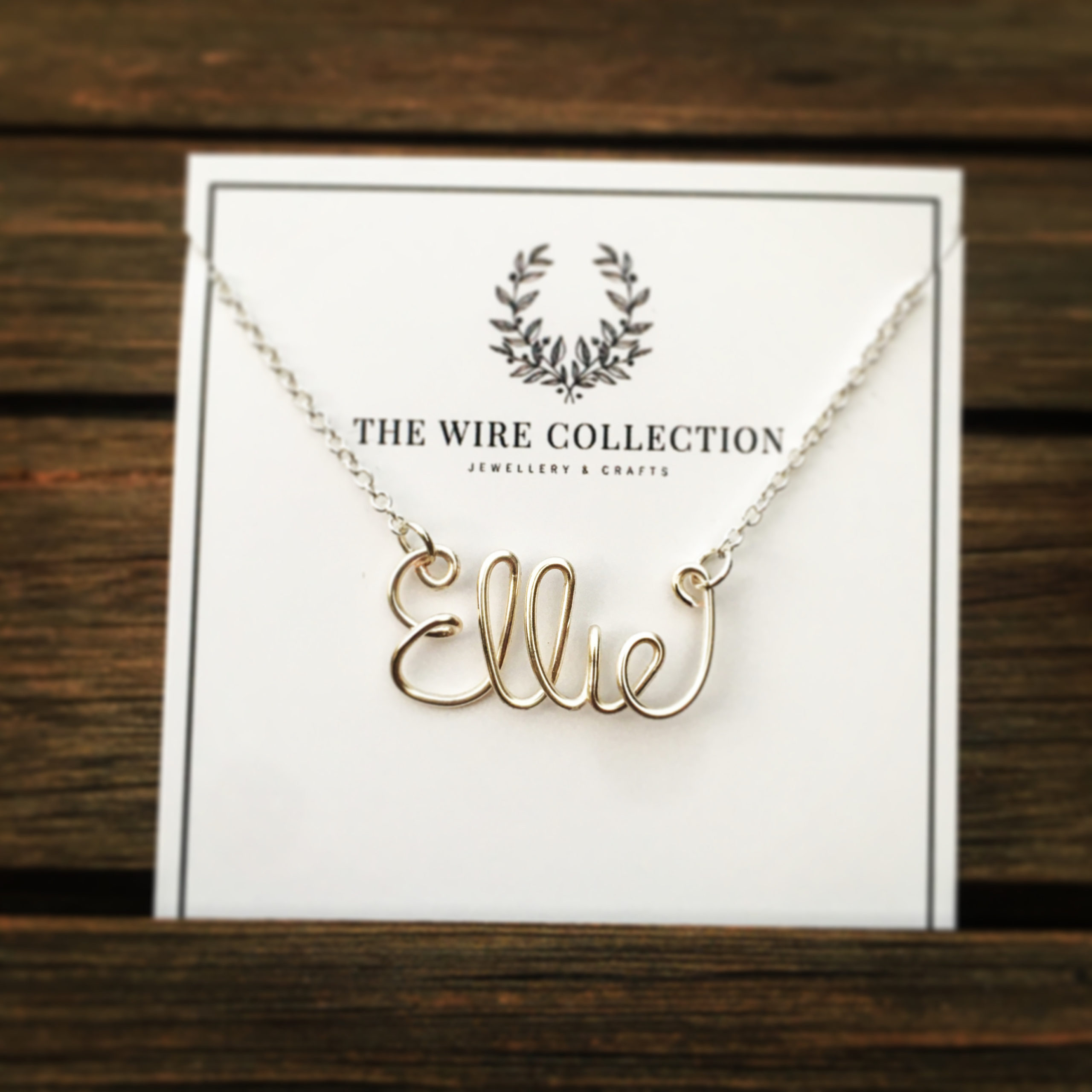 Personalized Name Necklace via @chooicenz