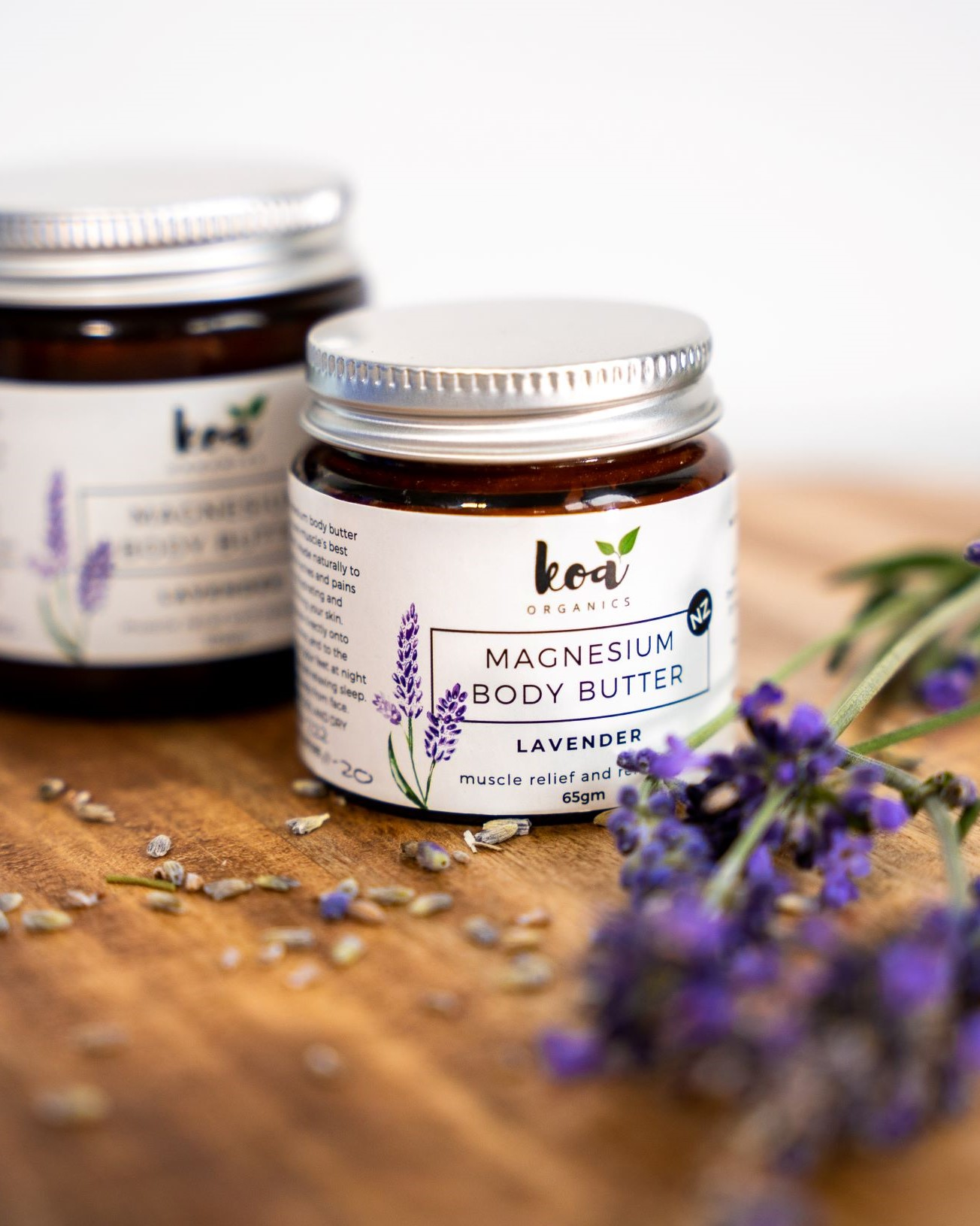 Magnesium Body Butter with Lavender via @chooicenz