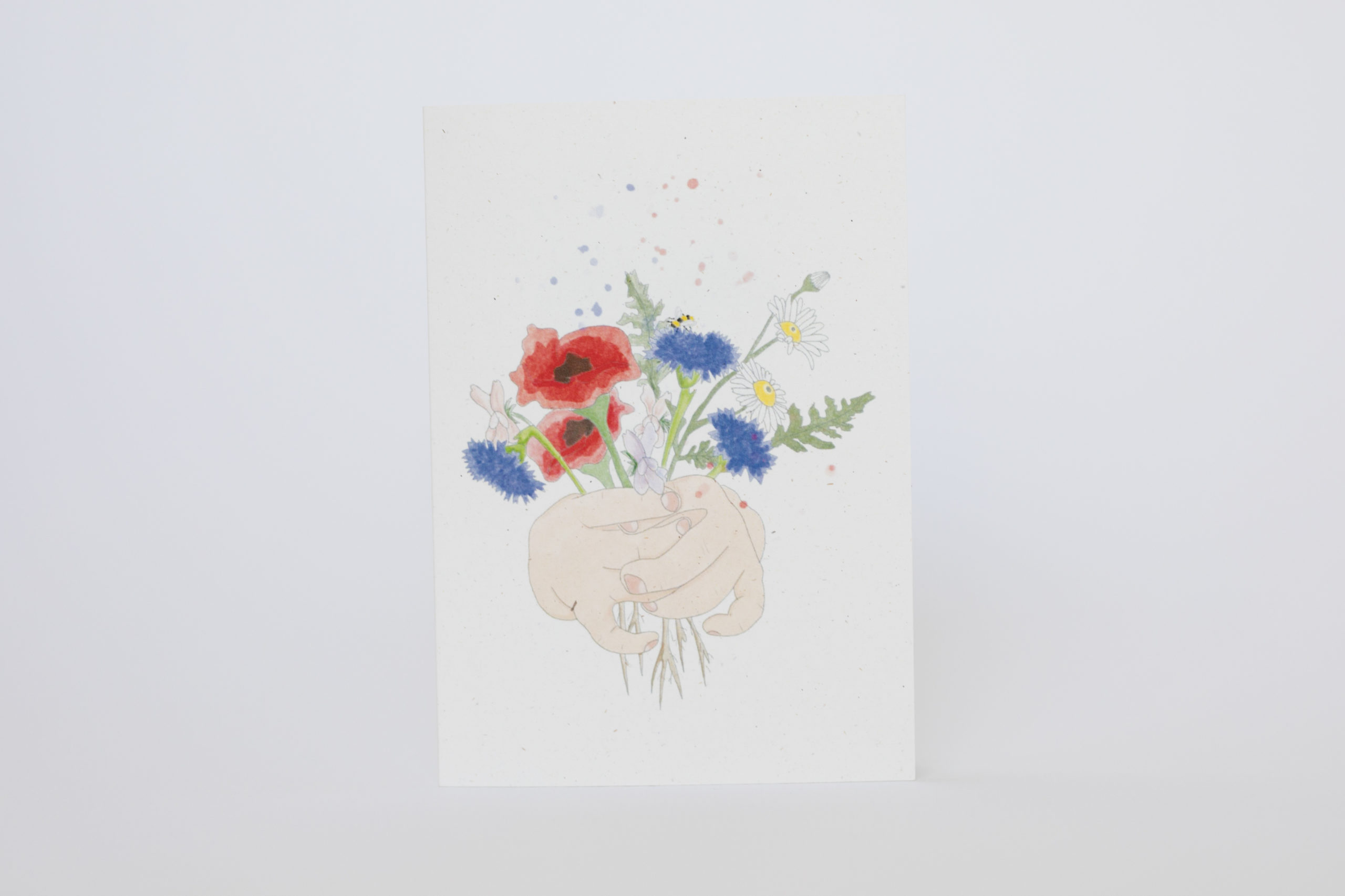 Ruby – Giving Seeds of Love seeded heart and card via @chooicenz
