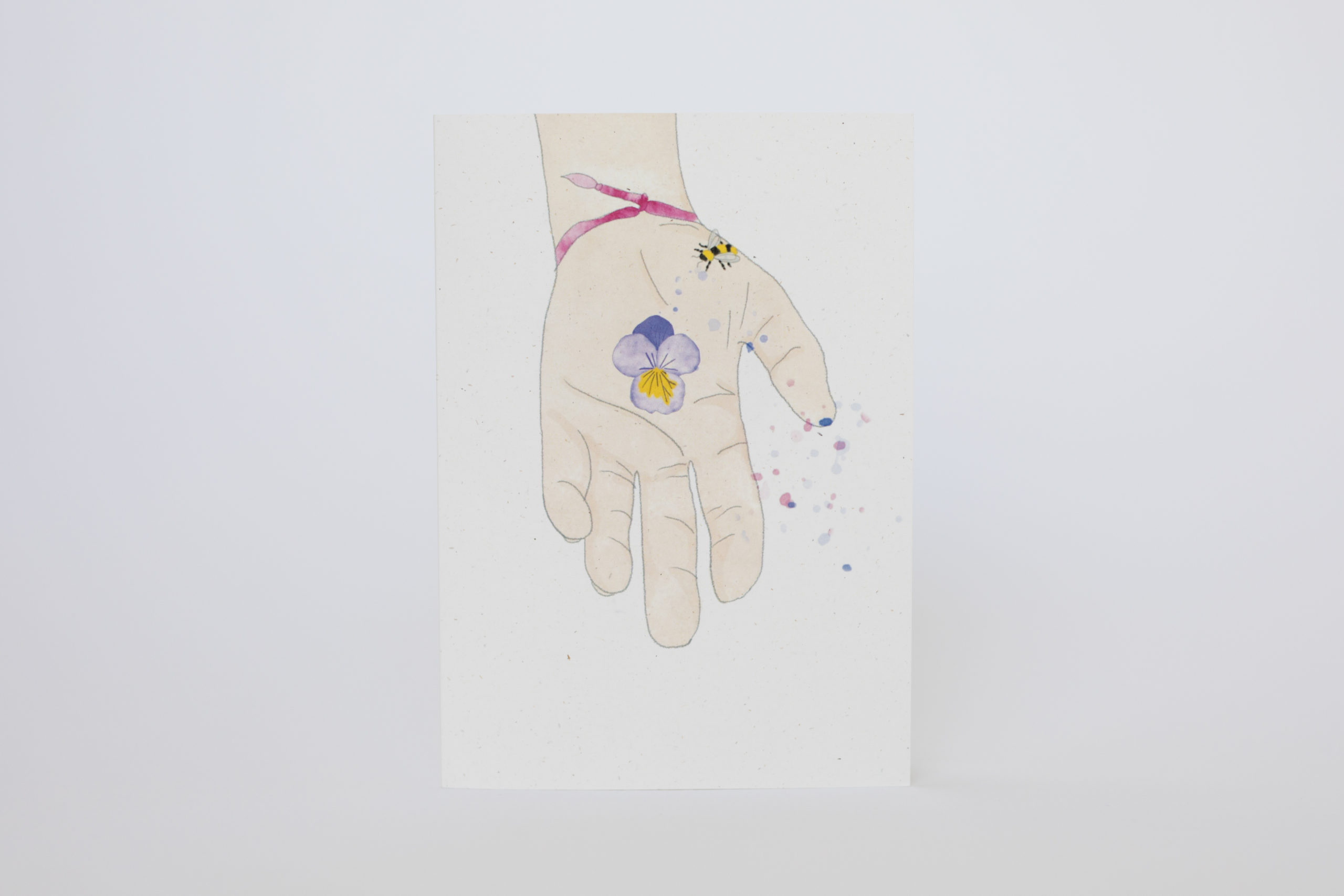 Maia – Giving Seeds of Love seeded heart and greeting card via @chooicenz
