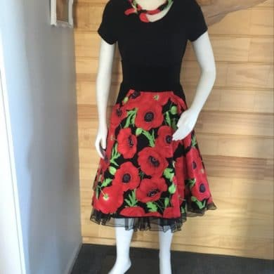 Comfy Colourful Skirts Poppy