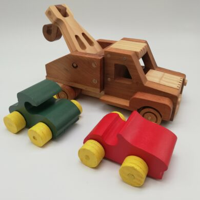 Tow Truck with Cars