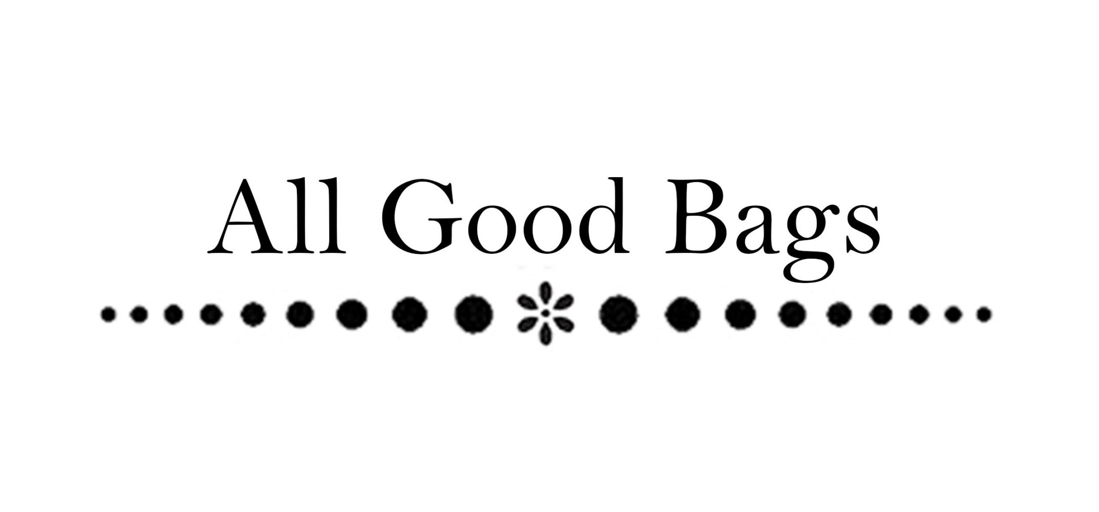 All Good Bags